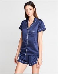 Homebodii - Grace Short Piping Pyjama Set