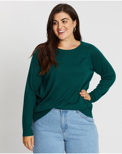 Atmos&Here Curvy - Cleo Lightweight Knit