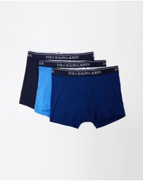 Polo Ralph Lauren - 3-Pack Classic Trunks