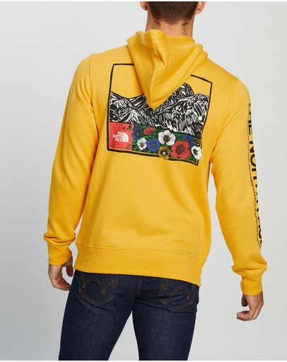 The North Face Himalayan Source Pullover Hoodie Tnf Yellow