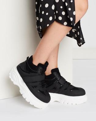 Verali Bounce - Sneakers (Black Micro)