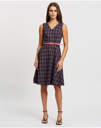 Review - Lianne Check Dress