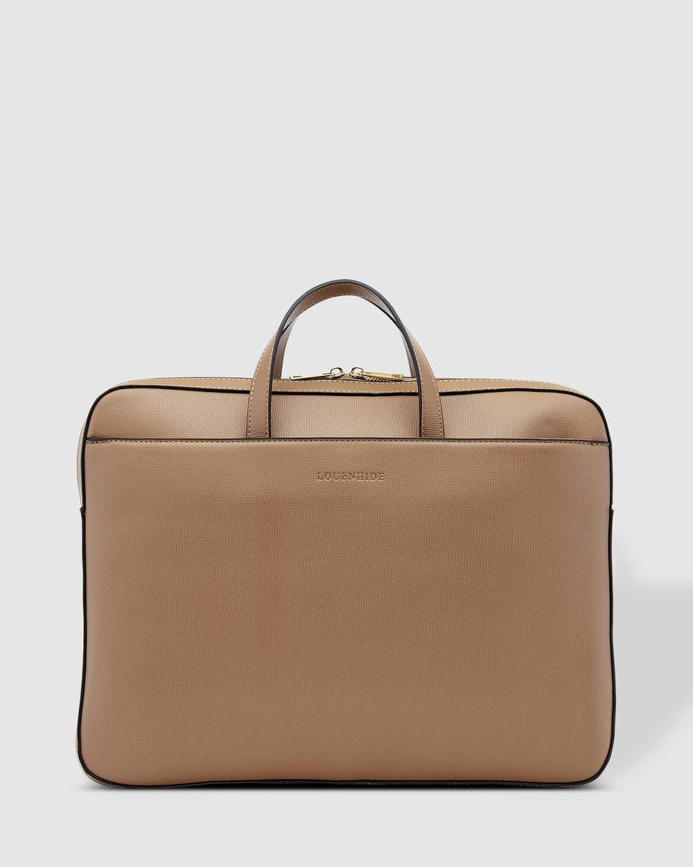 Louenhide Orleans Laptop Bag Bags Coffee Australia