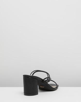 Billini Yukon - Mid-low heels (Black Lizard)
