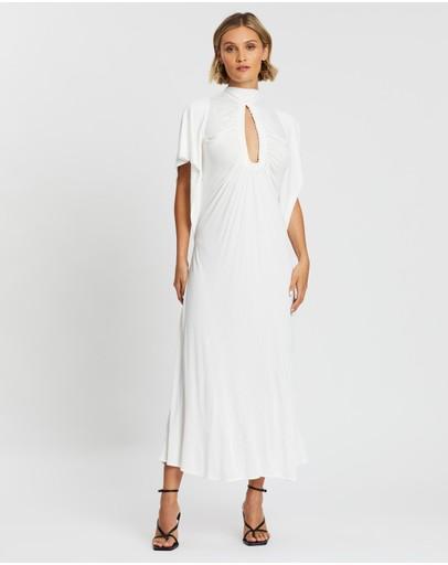 Kitx Earth Angel Midi Dress Porcelain