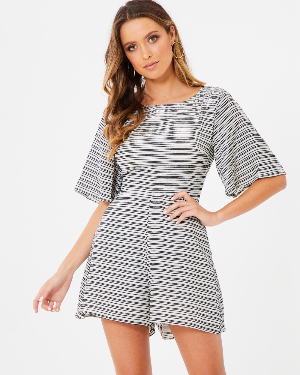 55e3827e96b Adrienne Tie Up Playsuit by Tussah Online