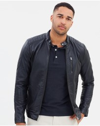 Jack & Jones - Core Leather Jacket