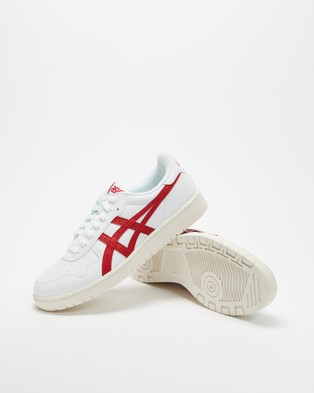 ASICS - Japan S Men's Casual Shoes (White/Speed Red -?áMens)