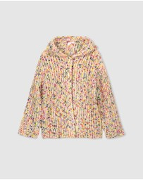 Milky - Knit Fleck Jacket - Kids