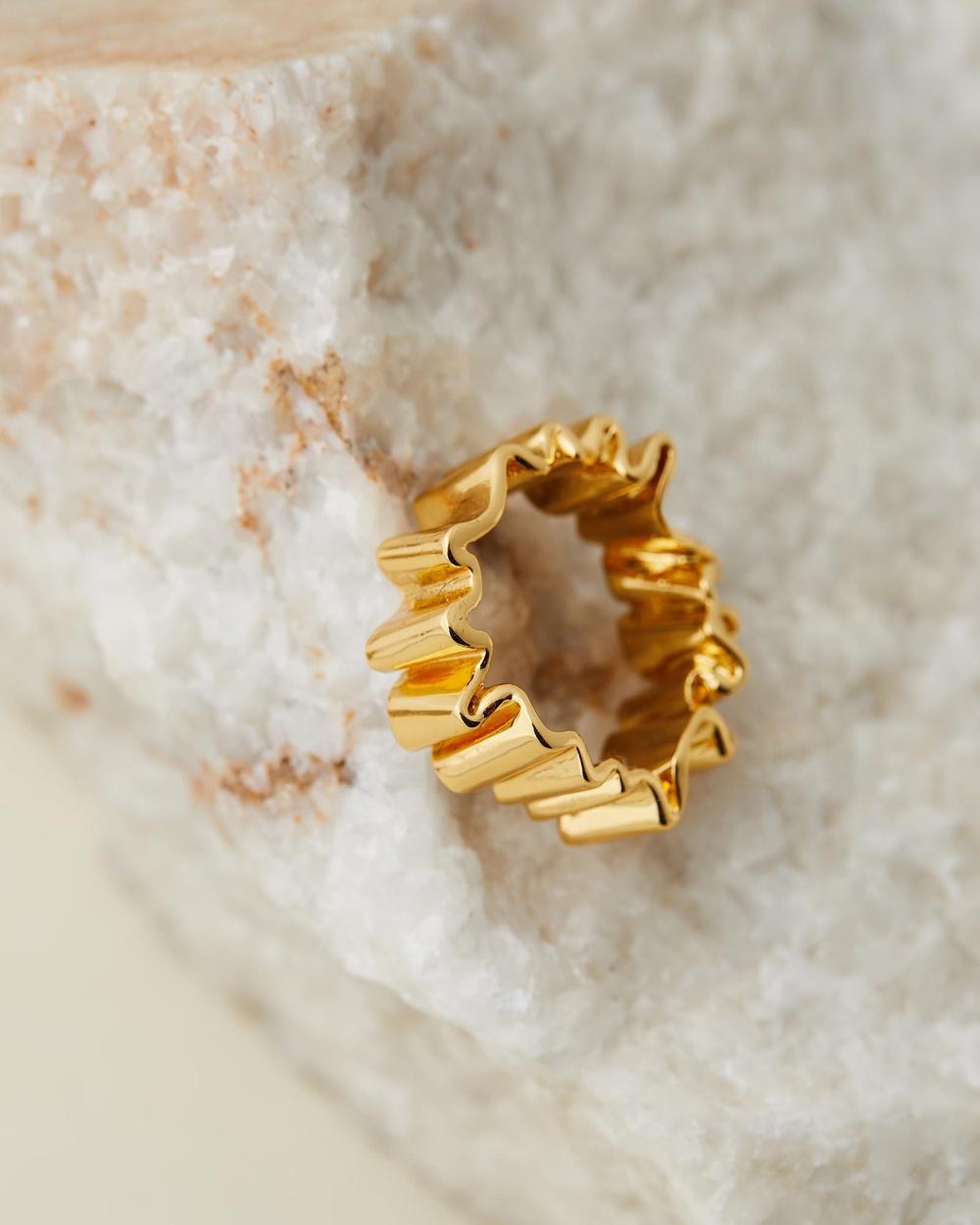 Amber Sceats Haiti Ring Jewellery Gold