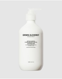 Grown Alchemist - Detox - Shampoo 0.1 Hydrolyzed Silk Protein, Lycopene, Sage 500ml