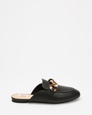 Dazie Preston Loafers - Flats (Black Smooth)
