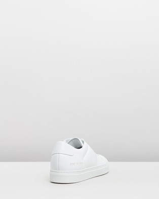 Common Projects Bball Low Leather   Men's - Sneakers (White)