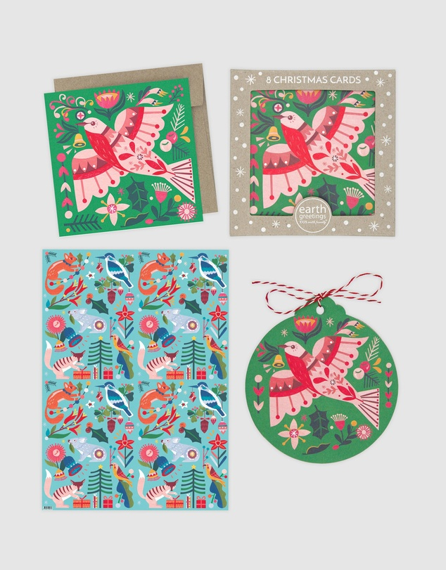 Earth Greetings - Christmas Gift Wrap Bundle