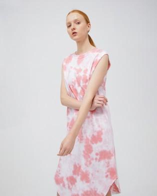 Jac & Mooki Naomi Dress - Dresses (flamingo tie dye)