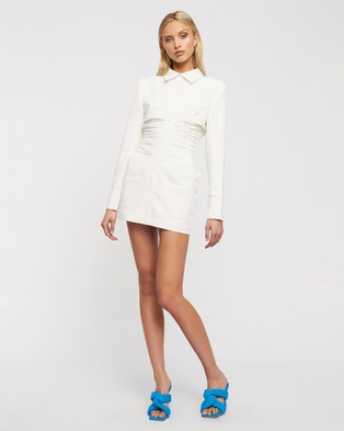 Lioness The Sweetest Thing Mini Dress - Bodycon Dresses (White)