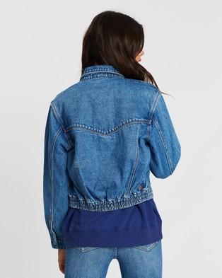 Abrand A Millie Denim Jacket - Denim jacket (Austin Blue)