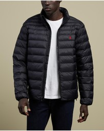 Polo Ralph Lauren - Logo Embroidered Padded Jacket - The Iconic Exclusives