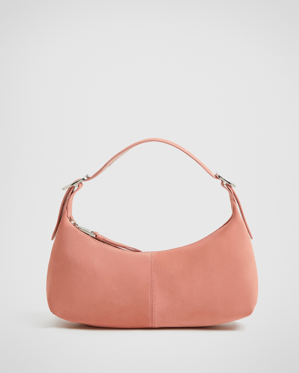 Witchery Zoe Suede Shoulder Bag Bags orange