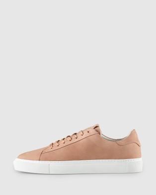 Aquila Deco Sneakers - Low Top Sneakers (Nubuck Salmon)