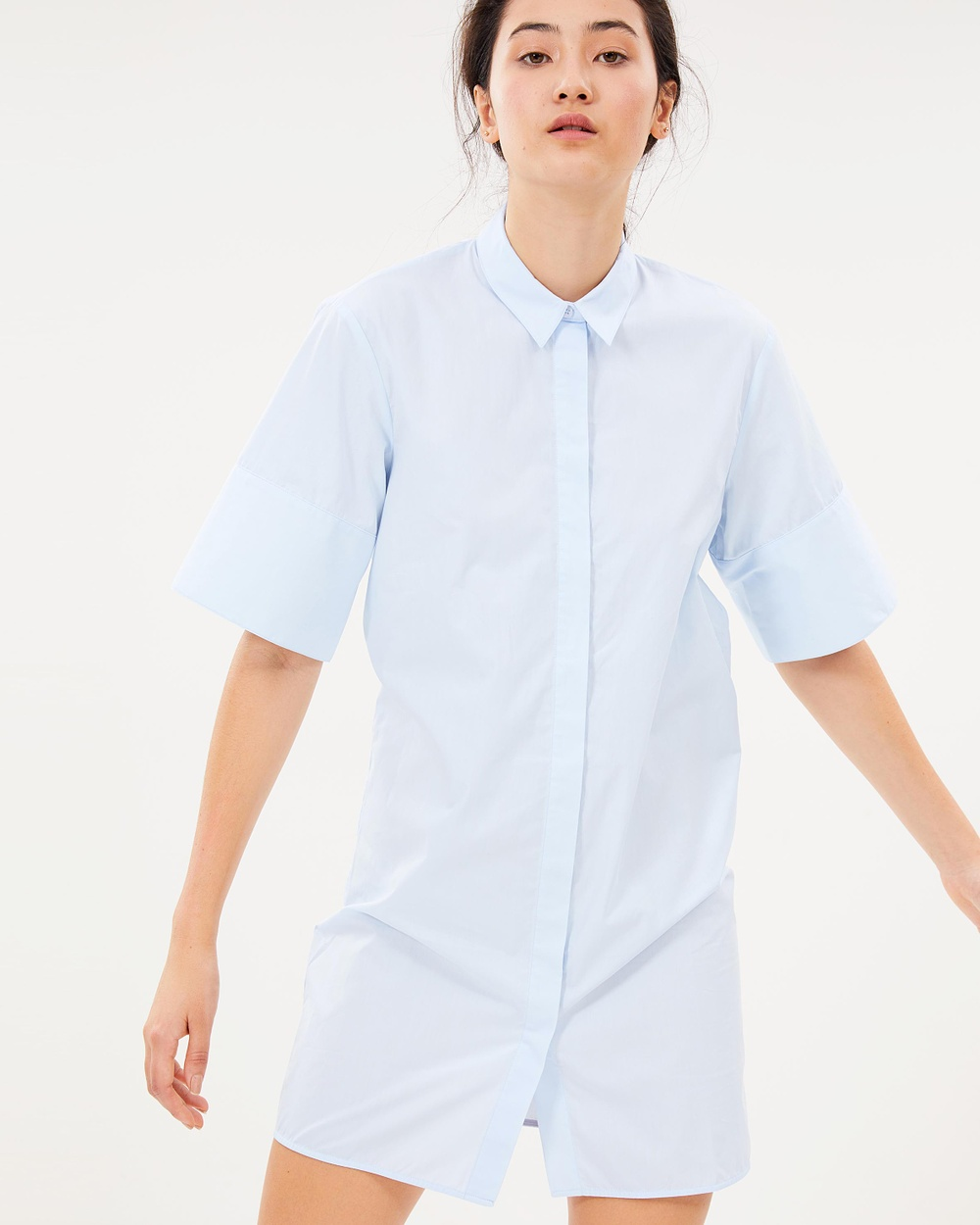House of Dagmar Caddie Shirt Tops Light Blue Caddie Shirt