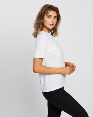 Tommy Jeans Summer Repeat Back Tee - T-Shirts & Singlets (White)