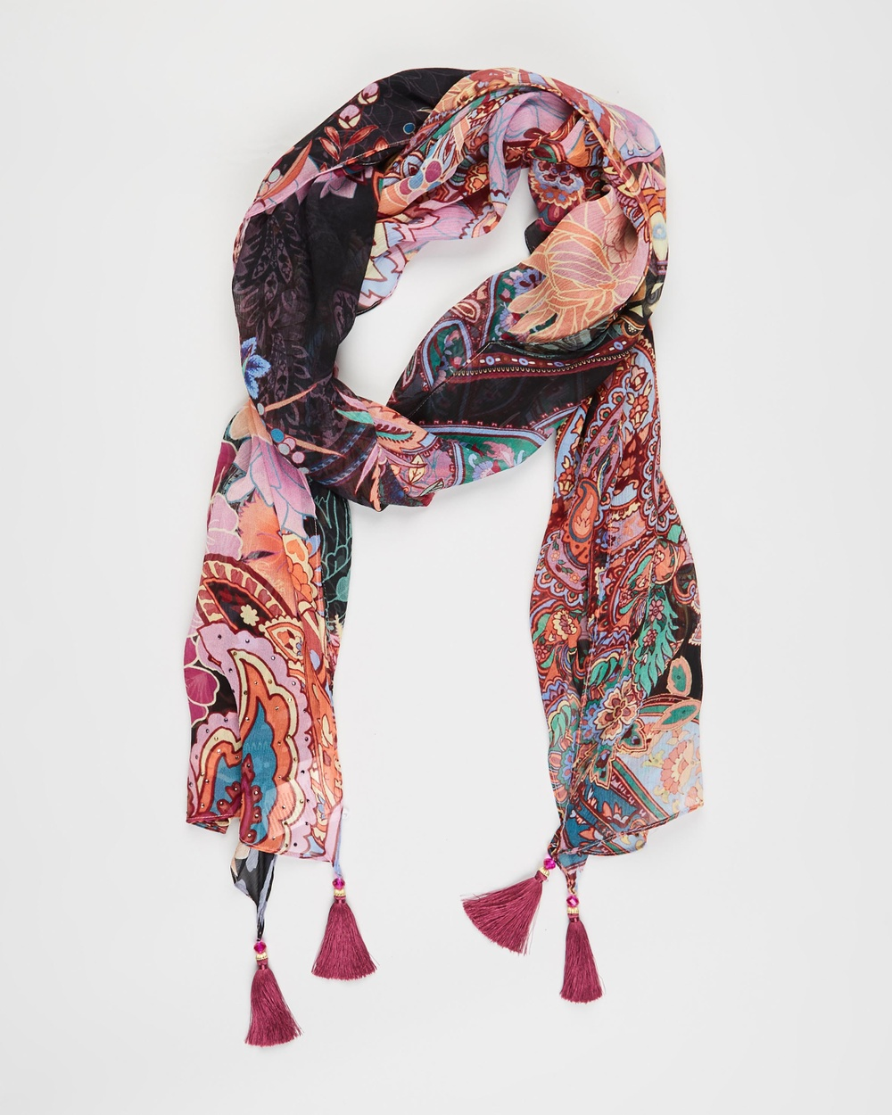 Camilla Long Scarf Scarves & Gloves Swinging Sixties