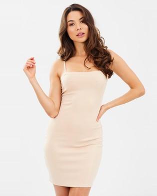 Dahli – Body of Work Dress – Bodycon Dresses Nude