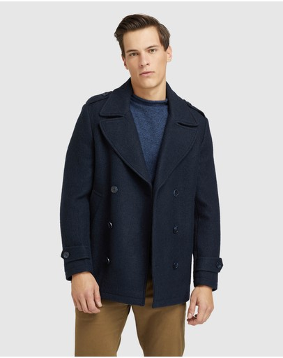 Oxford - Henry Knitted Pea Coat