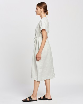 Assembly Label Freya Linen Dress - Dresses (Green Mist)