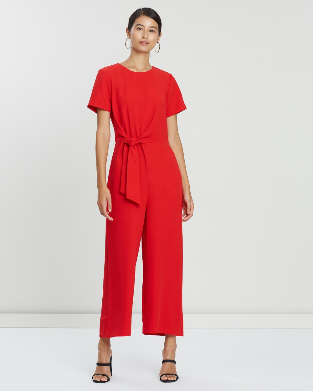c0221678f02 Side Knot Jumpsuit by Warehouse Online