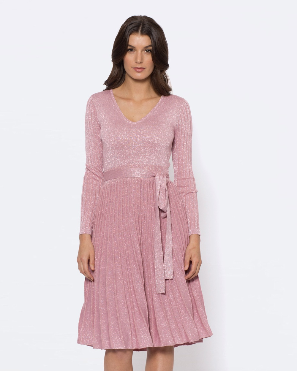 Alannah Hill Pure Beauty Knit Dress Dresses Pink Pure Beauty Knit Dress