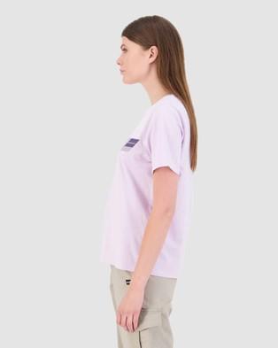 Huffer - Women's Stella Tee Sidestage - T-Shirts & Singlets (Purple) Women's Stella Tee-Sidestage