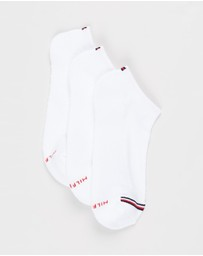 Tommy Hilfiger - 3-Pack Cushion Sole Socks