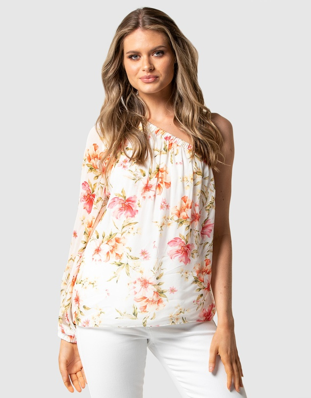 Forever New - Melissa One Shoulder Blouse