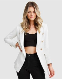 Belle & Bloom - Princess Polina Textured Weave Blazer