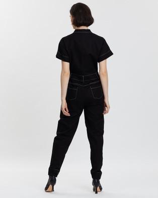 LENNI the label Lazuli Jumpsuit - Jumpsuits & Playsuits (Coal)