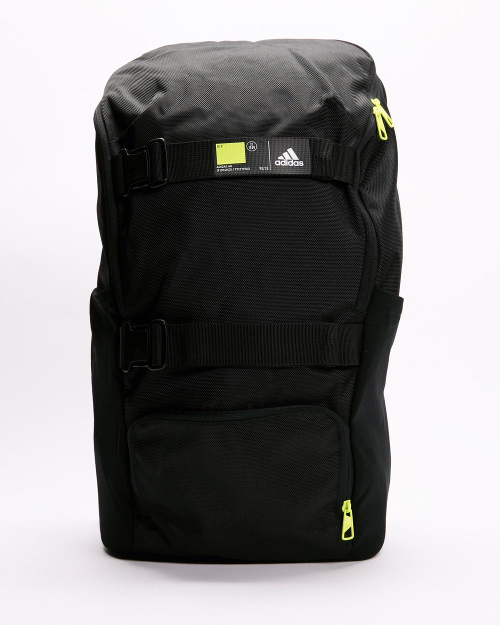adidas Performance 4 ATHLTS Backpack Backpacks Black