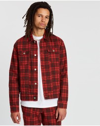 Locale - Check Trucker Jacket