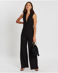 Missguided - Corset Wide Leg Jumpsuit