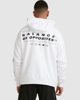 RVCA Sport Hoodie - Jumpers & Cardigans (WHITE)