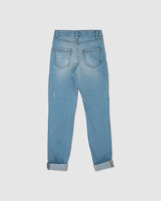 Gelati Jeans Kids Hudson Girlfriend Jeans - Girlfriend (Blue)