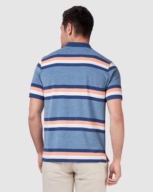 Blazer Jenson Polo - Shirts & Polos (Blue/Orange)
