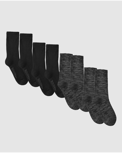 Boody Organic Bamboo Eco Wear - 4 Pack Work Boot Sock