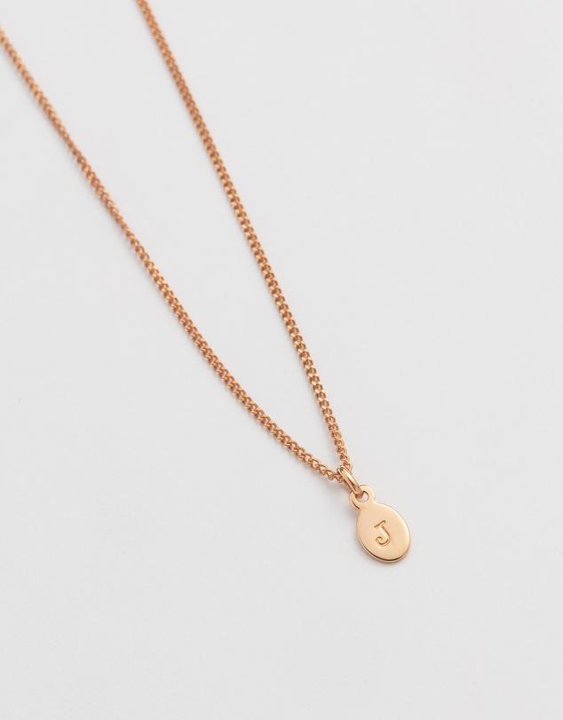 Women Initial J Necklace
