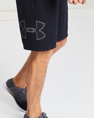 Under Armour Tech Graphic Shorts - Shorts (Black & Graphite)