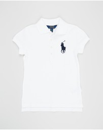 Polo Ralph Lauren - Big Pony Stretch Mesh Polo - Teens