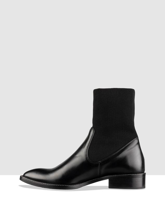 Women Zara Flat Ankle Boots