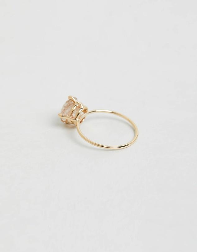 Women Rutilated Quartz Ring