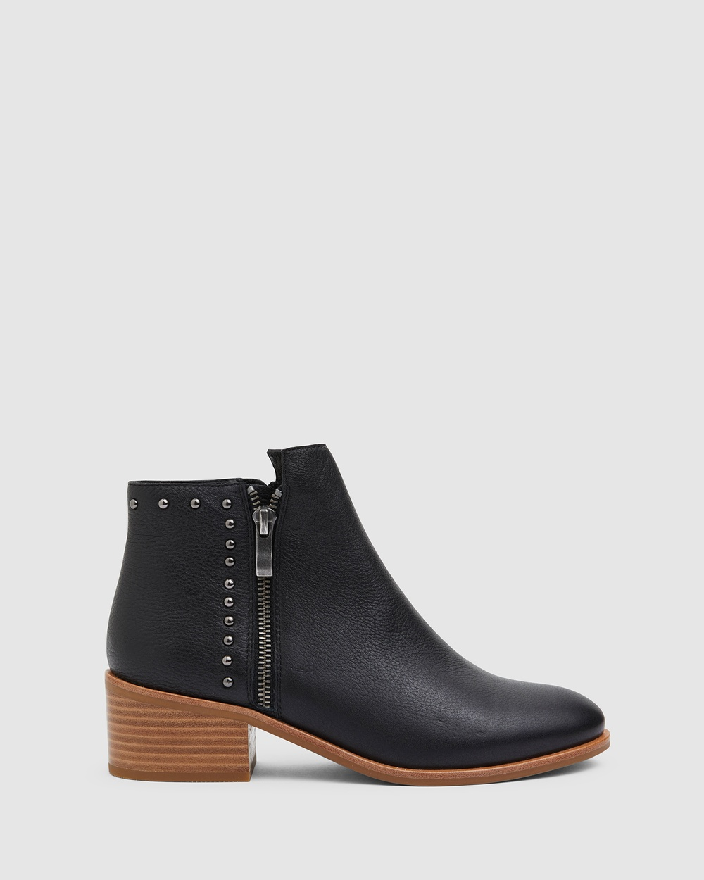 Jane Debster David Mid-low heels BLACK